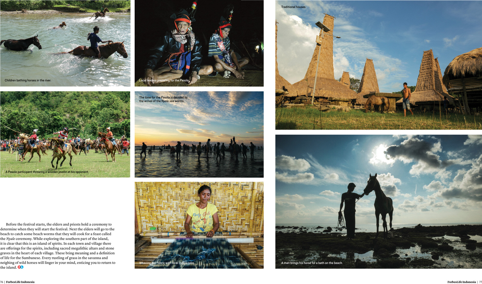 Magnificent Landscape of Sumba. ForbesLife Indonesia Jul-Sep 2015